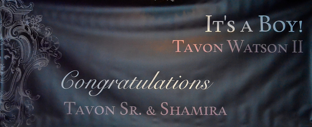Tavon and Shamira Baby Shower 10.20.13